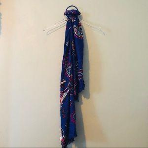 🌸 Apt. 9 | NWT blue paisley print pashmina scarf